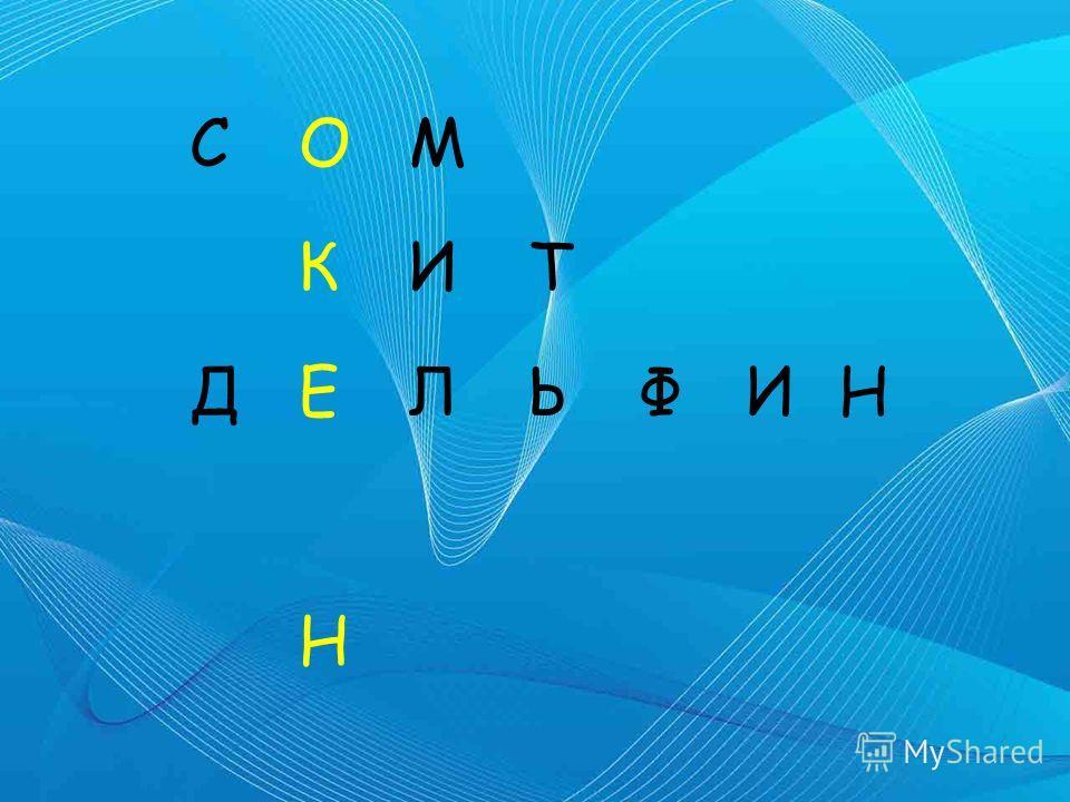 СОМ КИТ ДЕЛЬФИН Н