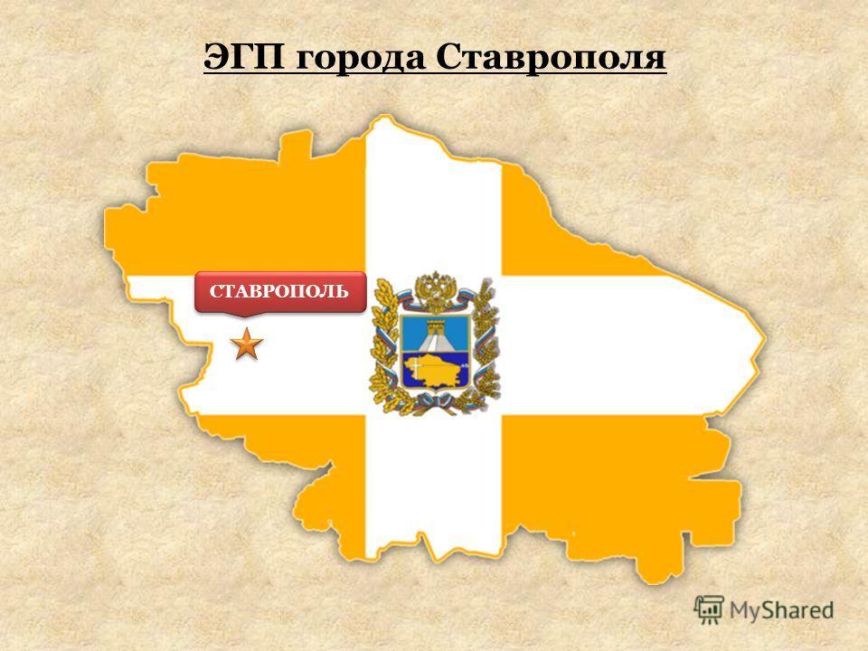 ЭГП города Ставрополя СТАВРОПОЛЬ