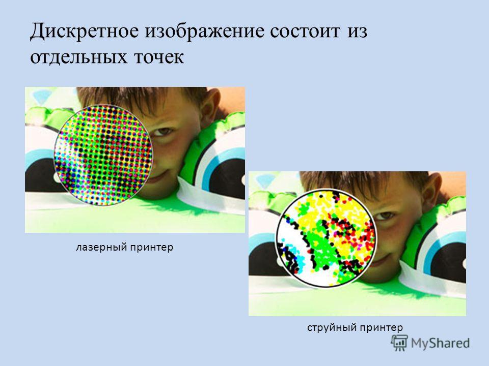 Преобразование графического изображения из аналоговой формы в цифровую (дискретную) называется пространственной дискретизацией. живописное полотно цифровая фотография