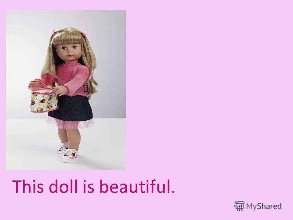 This doll is beautiful.