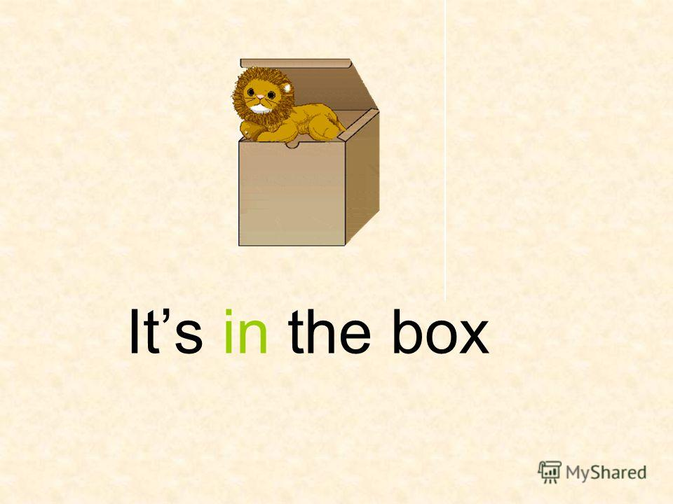 Its in the box