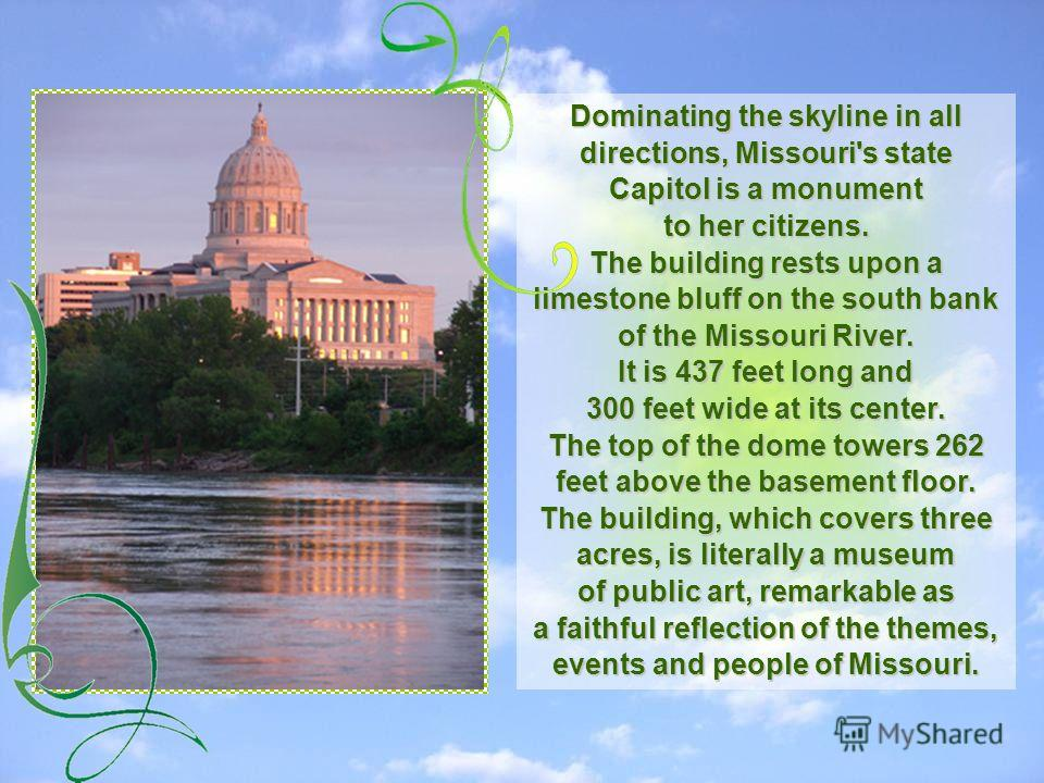 The Capital of the State of Missouri is Jefferson City The Capital of the State of Missouri is Jefferson City