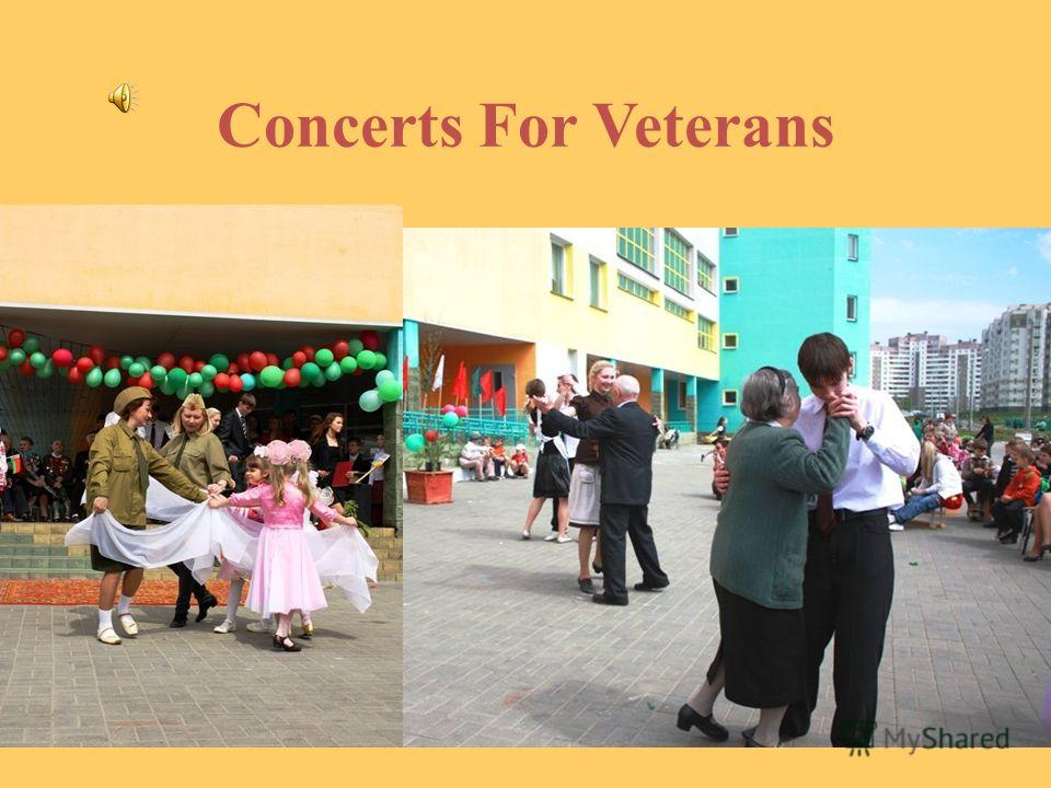 Concerts For Veterans