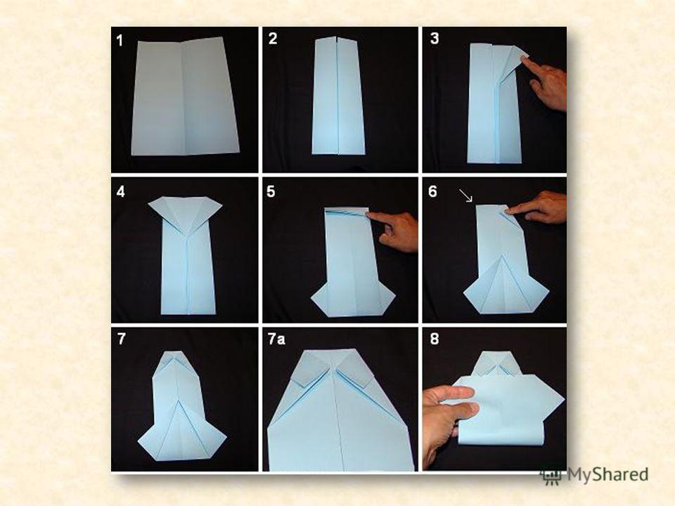 Как сделать открытку рубашка с галстуком своими руками 8