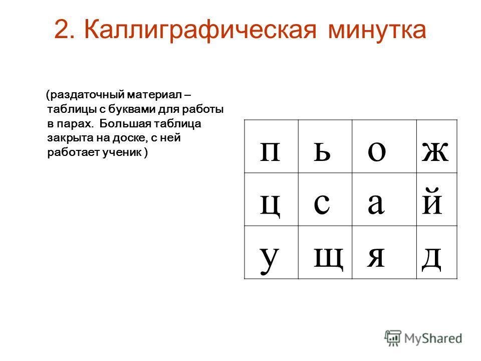 Урок русского языка буква й 2 класс канакина