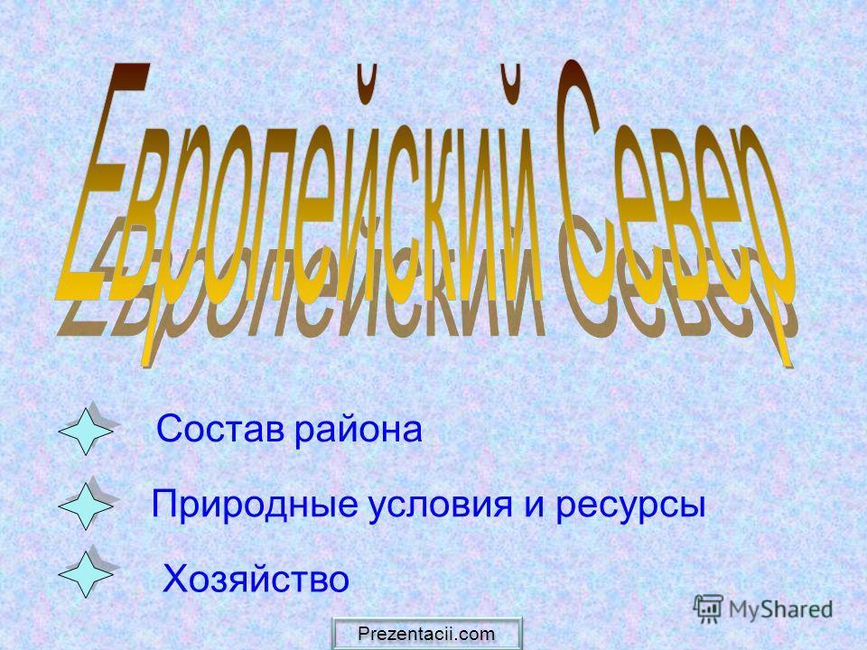 Природные условия и ресурсы Состав района Хозяйство Prezentacii.com