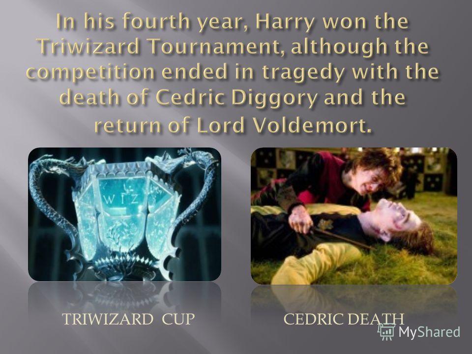 TRIWIZARD CUPCEDRIC DEATH