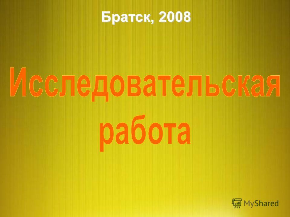 Братск, 2008