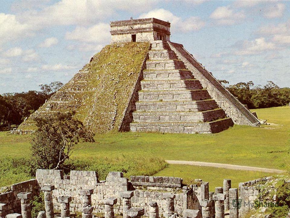 Белый храм и зиккурат в Уре. Реконструкция. XXI в. до н. э. В аккадский период возникает новая форма храма зиккурат. Зиккурат представляет собой ступенчатую пирамиду, на вершине которой помещалось небольшое святилище. Нижние ярусы зиккурата, как прав