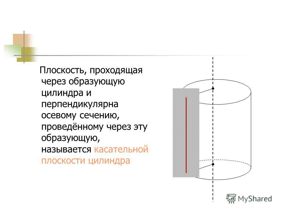Плоскость, перпендикулярная оси цилиндра, пересекает его боковую поверхность по окружности,, равной окружности его основания. R2R2 R3R3 R1R1 = =