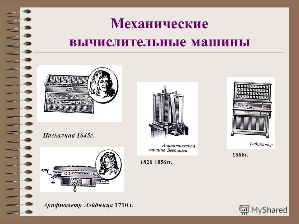 Вычислительные приборы Пальцы 1.Греческий абак V 2.Русские счёты XVI-XVII 3.Логарифмическая линейка XVII Джон Непер 4.Арифмометр 5.Калькулятор XX