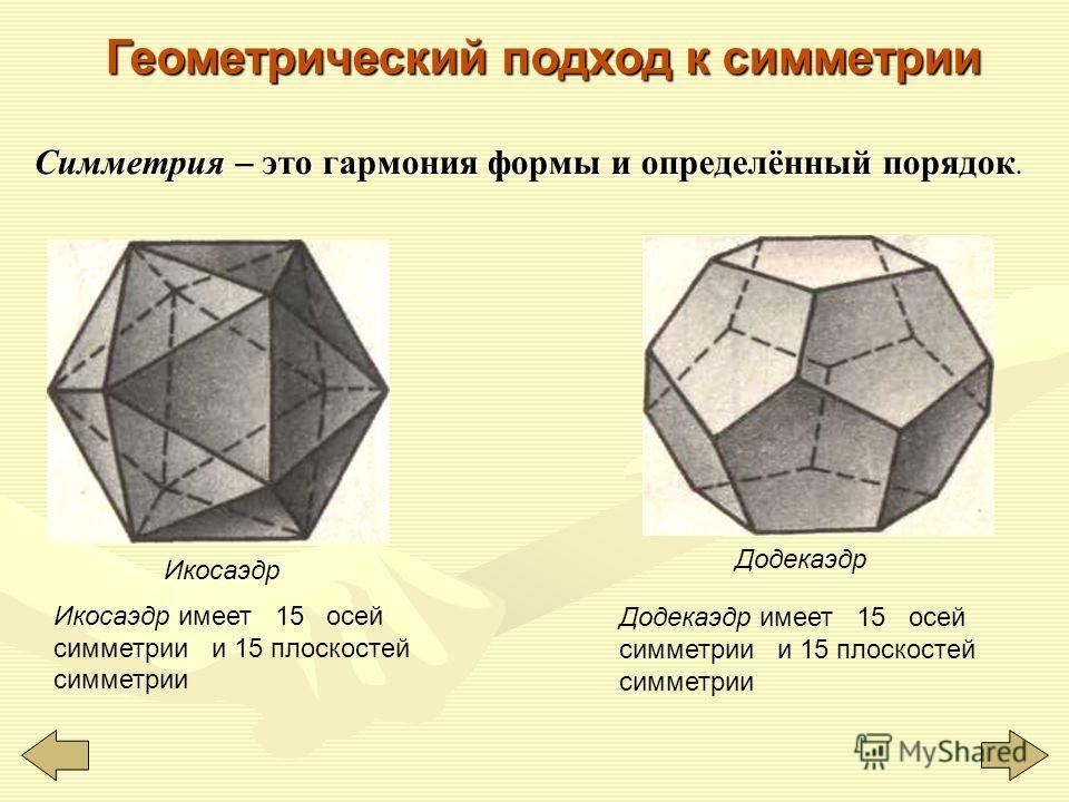 Поверхность вращения получается вращением кривой Г вокруг прямой а. Эта прямая ось симметрии поверхности Фигура может иметь одну или несколько осей (центров) симметрии. Например, куб имеет только один центр симметрии и несколько осей симметрии. Сущес