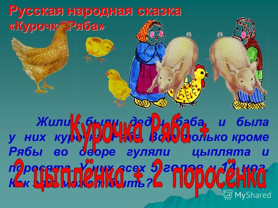 Русская народная сказка « Курочка Ряба »