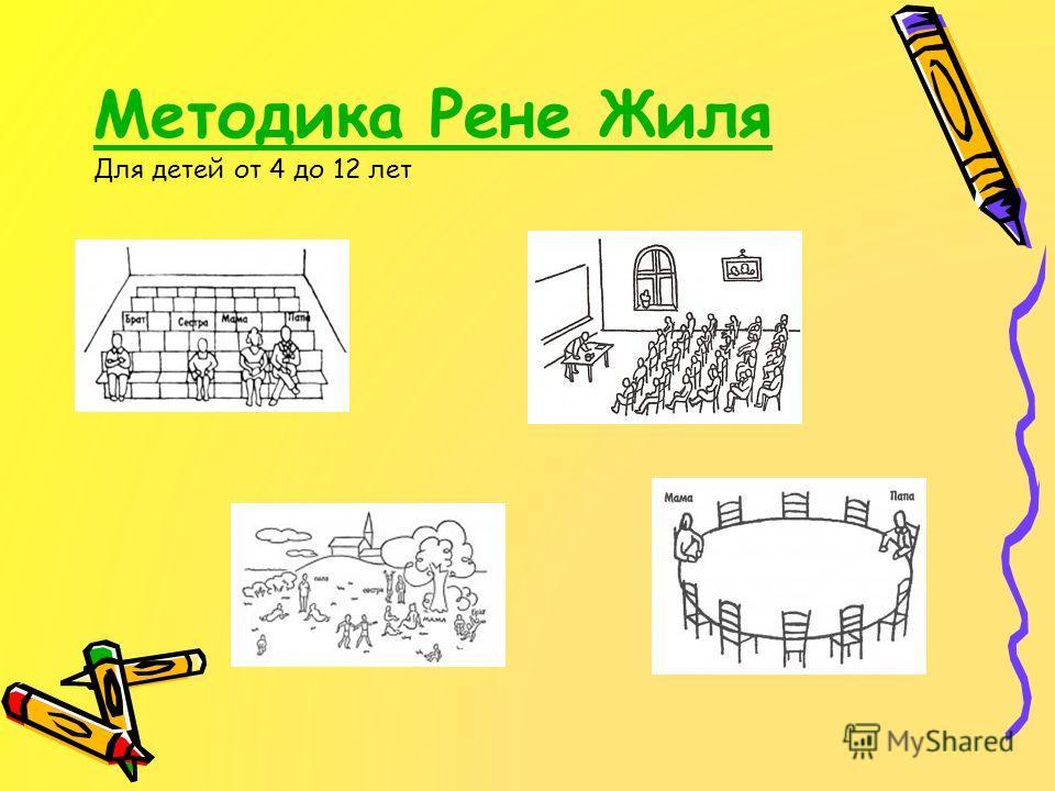 Методика Рене Жиля Методика Рене Жиля Для детей от 4 до 12 лет