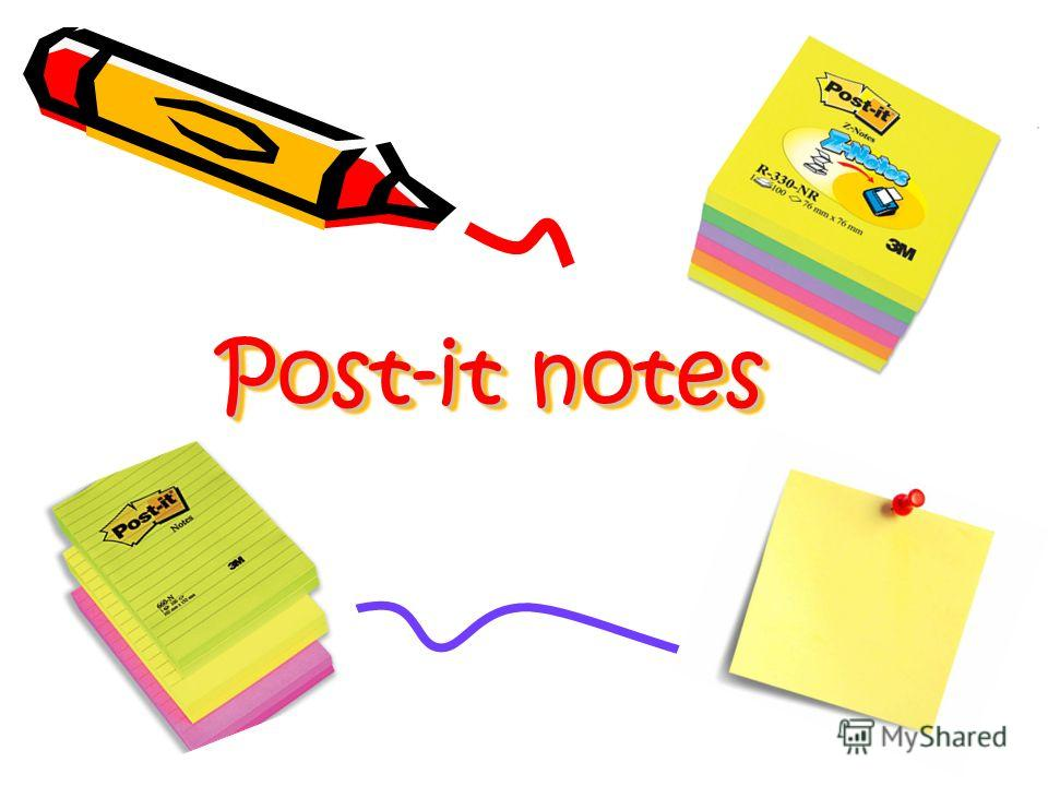 Post-it notes Post-it notes