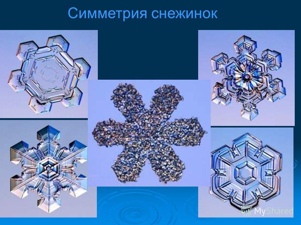 Зависимость форм снежинок от внешних условий