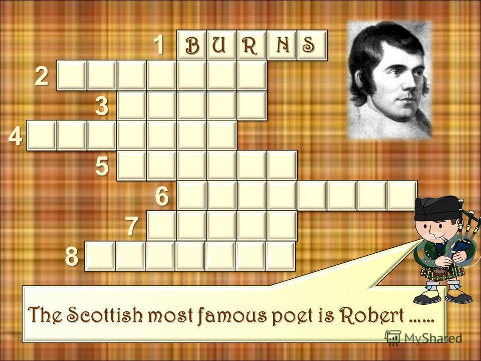 What is Haggis? Haggis is a typical Scottish food. Read the text about one of the most traditional text Scottish dishes and check yourself by completing the crossword.