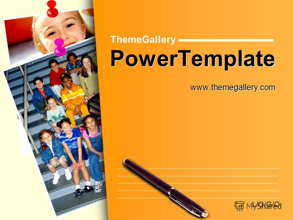 L/O/G/O PowerTemplate www.themegallery.com ThemeGallery