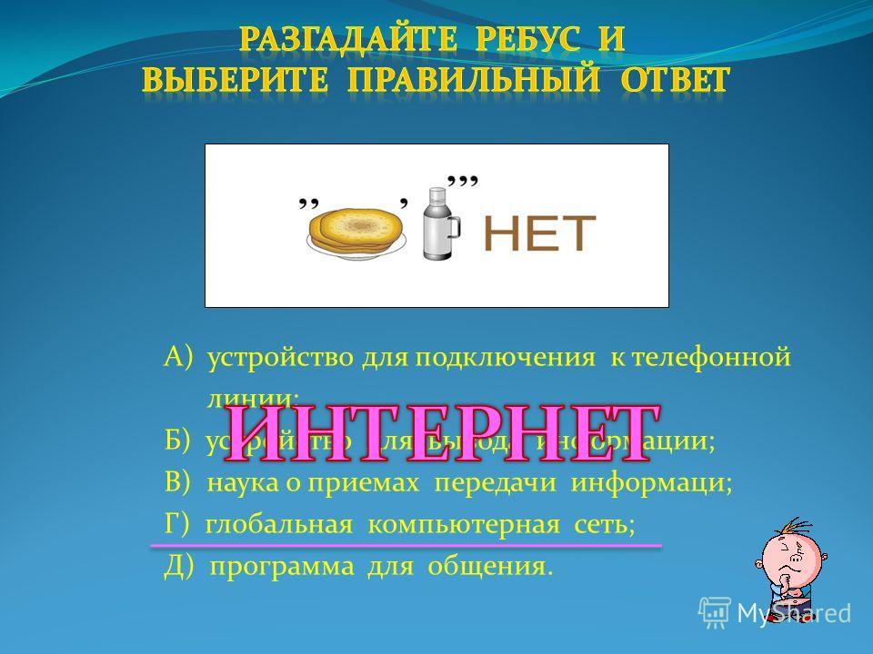 А) устройство для шифровки информации; Б) сохранение информации в виде файла; В) наука о шифровании информации; Г) преобразование информации в соответствии с некоторым кодом; Д) процесс передачи информации.