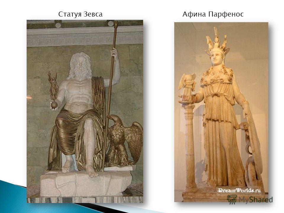 Статуя ЗевсаАфина Парфенос