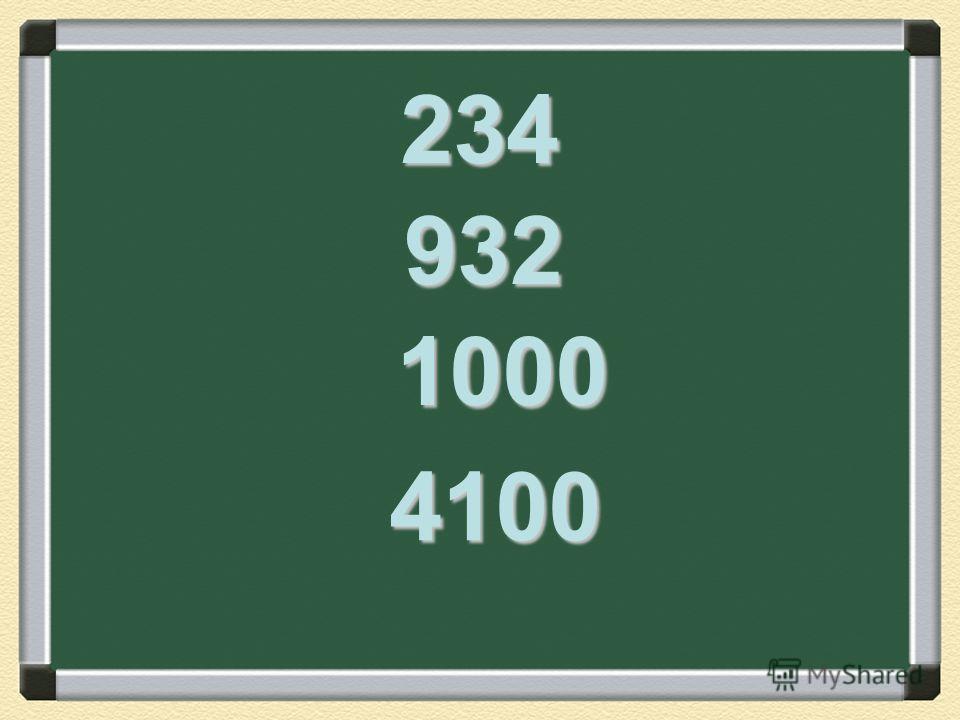 234 932 1000 4100
