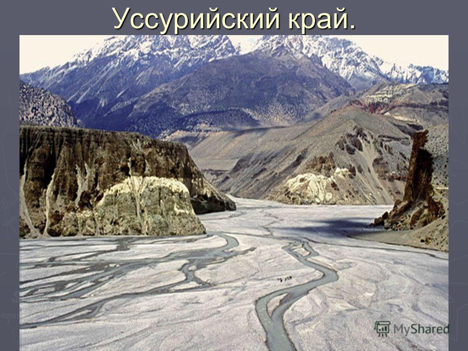 Уссурийский край.