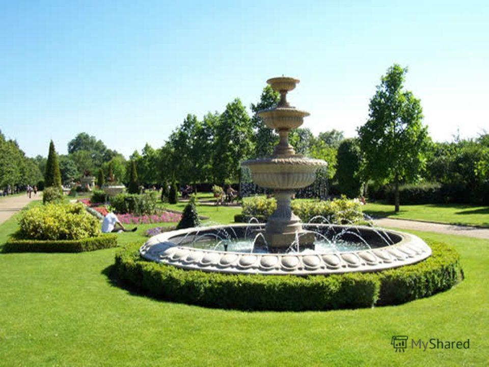 Regent's Park is one of the Royal Parks of London. It contains Regent's College and the London Zoo.
