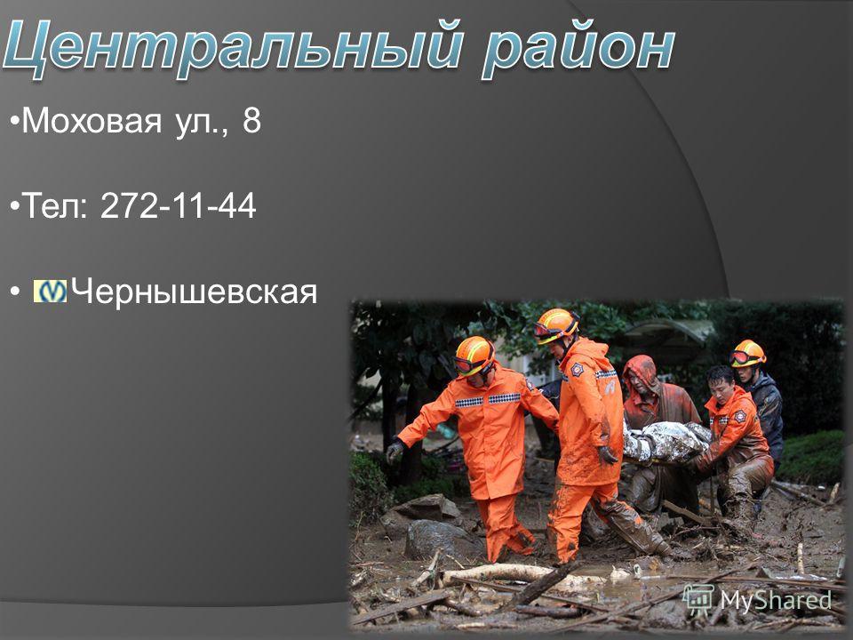 Моховая ул., 8 Тел: 272-11-44 Чернышевская