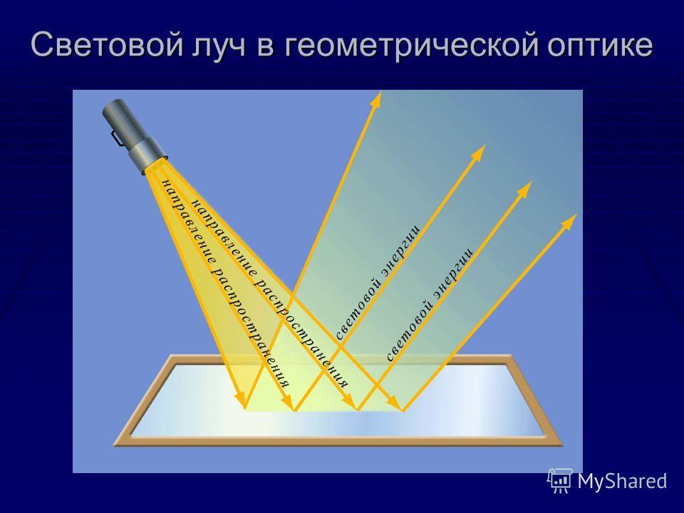 Световой луч в геометрической оптике