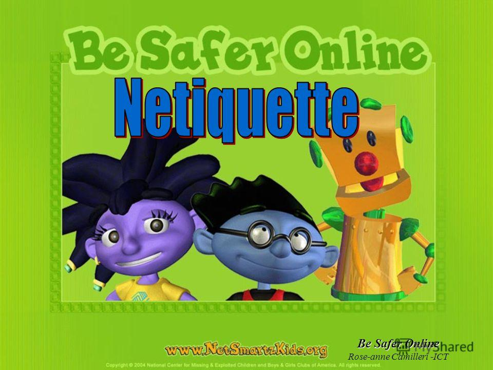 Be Safer Online Rose-anne Camilleri -ICT