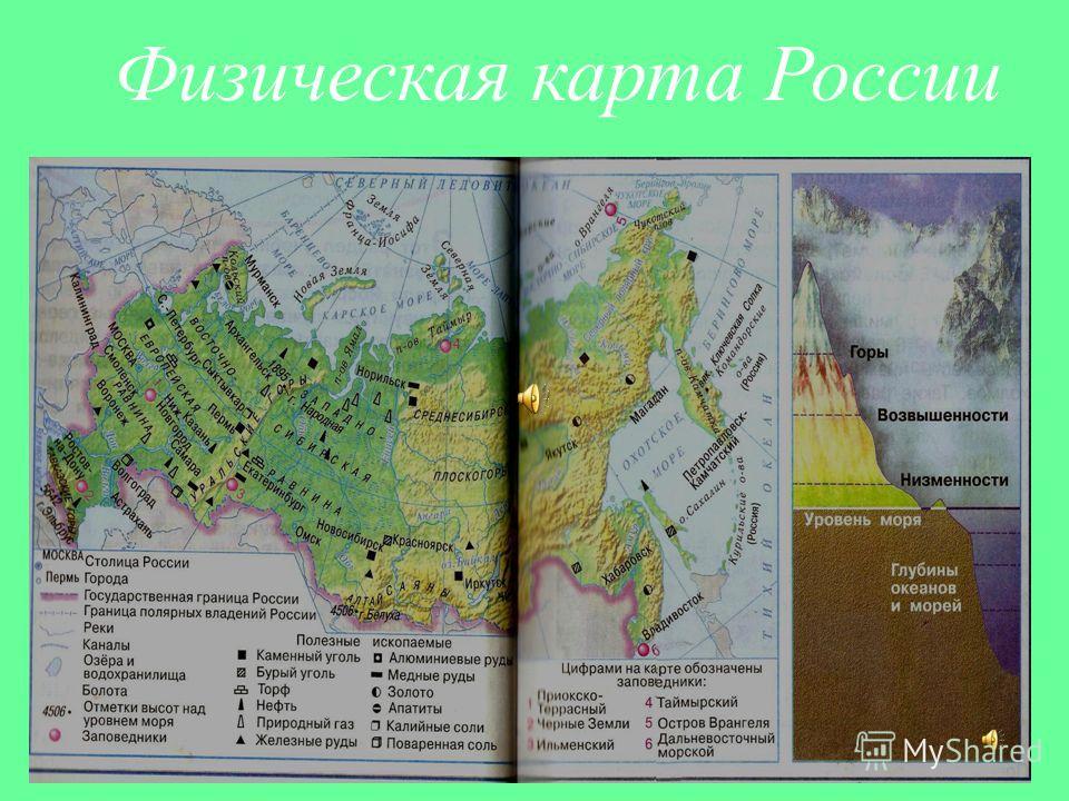 Равнины и горы россии презентация 2 класс рефират