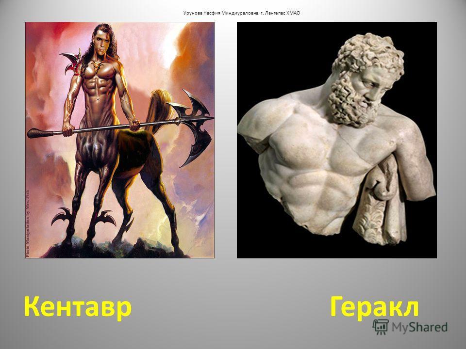 Кентавр Геракл Урунова Насфия Миндиураловна. г. Лангепас ХМАО