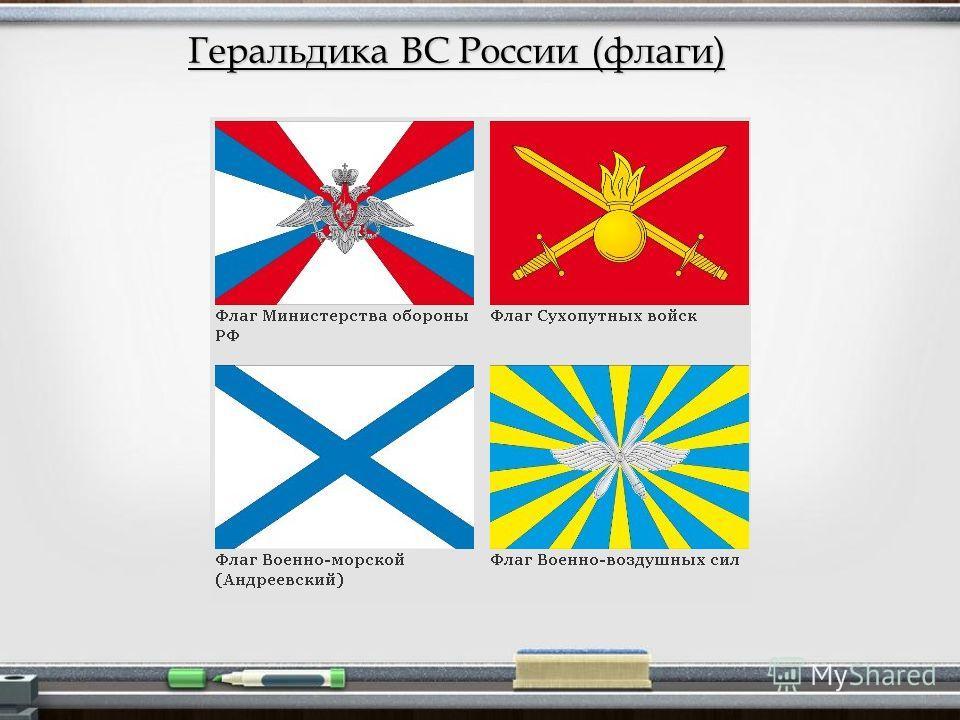 Геральдика ВС России (флаги)