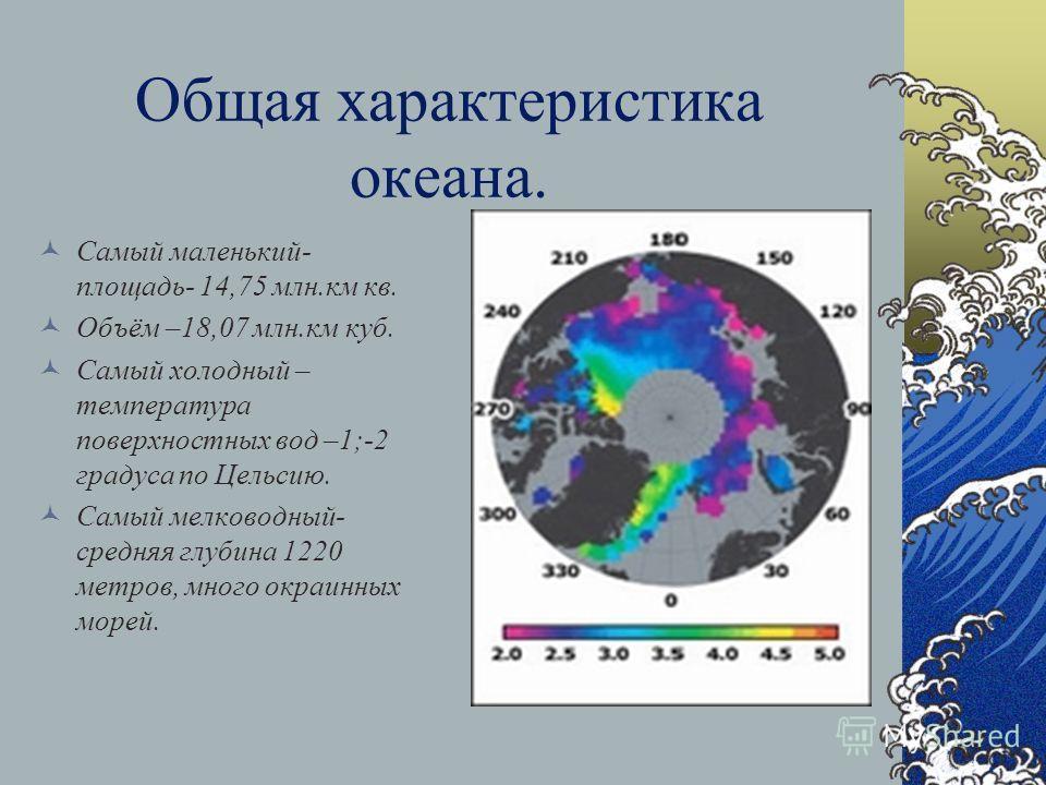 Северный Ледовитый океан. « Я и раньше представлял себе, что Северный Ледовитый океан страшное место, но увиденное превосходит всё, что не довелось слышать о нём». Н. Уэмура.