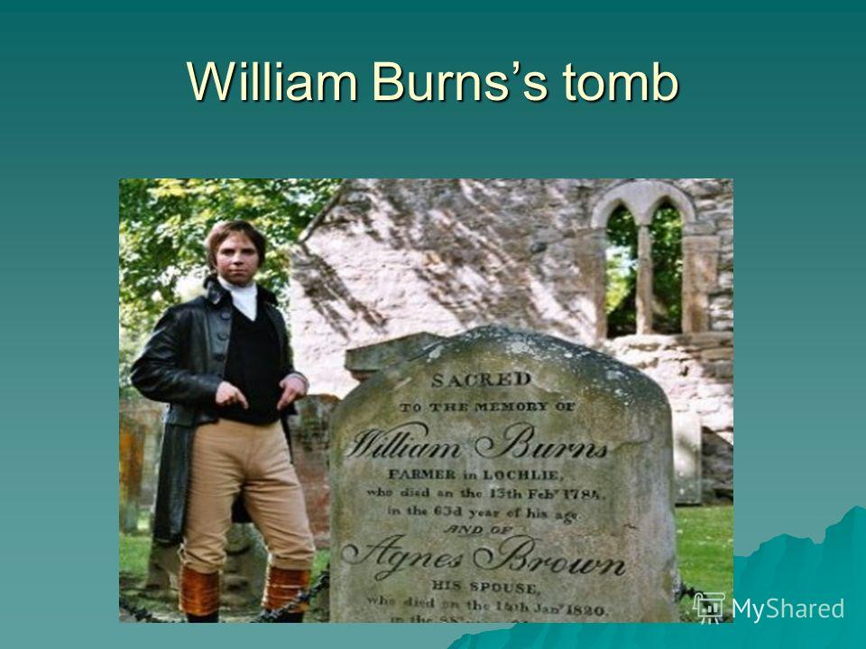 William Burnss tomb