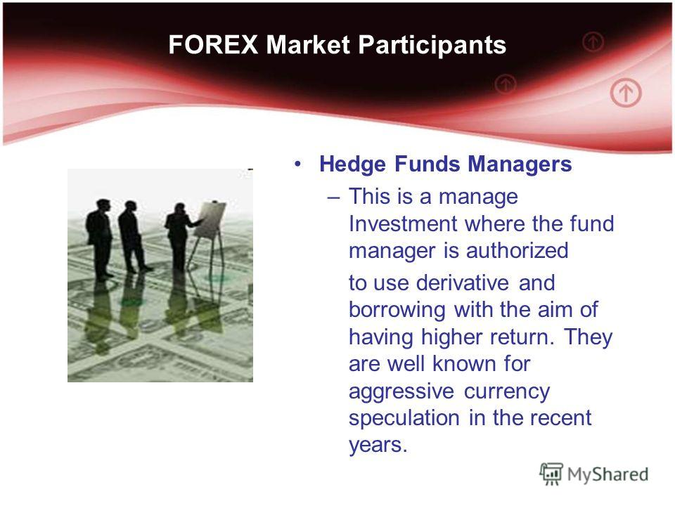 How do hedge funds trade forex