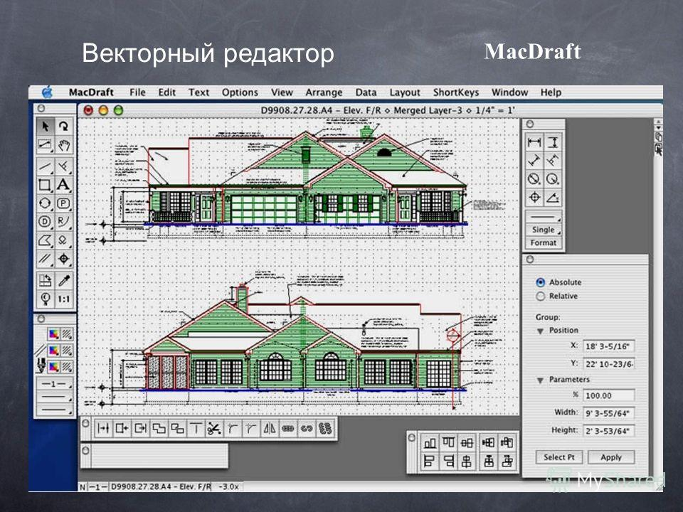 MacDraft Векторный редактор