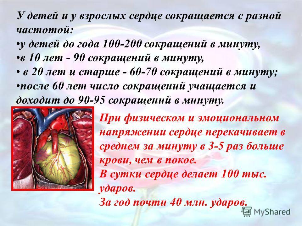 ФазыДлитель- ность Движение крови Состояние клапанов СтворчатыеПолулунные Сокращение предсердий 0,1Из предсердий в желудочки открытызакрыты Сокращение желудочков 0,3Из желудочков в сосуды закрытыоткрыты Расслабление0,4Кровь переходит в предсердия и ж