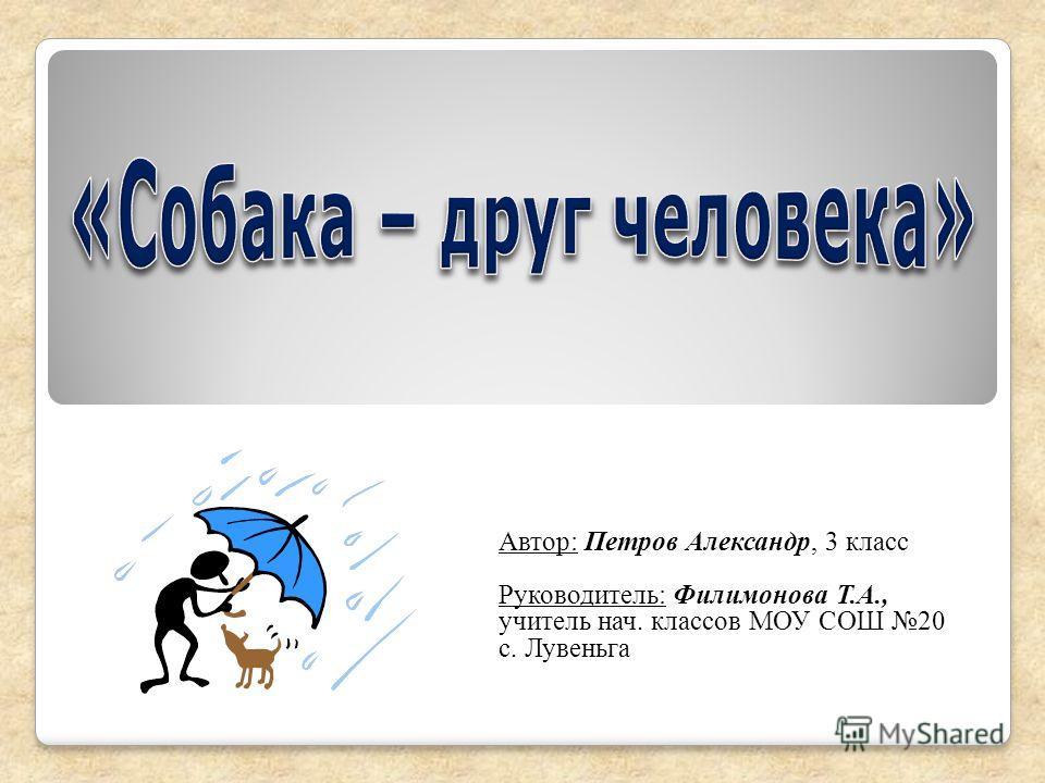Автор: Петров Александр, 3 класс Руководитель: Филимонова Т.А., учитель нач. классов МОУ СОШ 20 с. Лувеньга