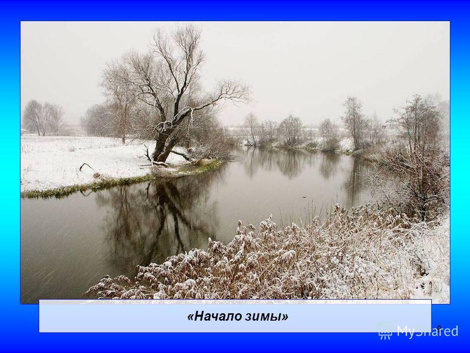 8 «Начало зимы»