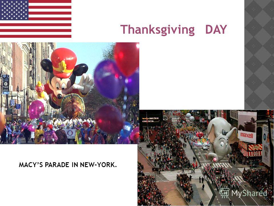 Thanksgiving DAY MACYS PARADE IN NEW-YORK.