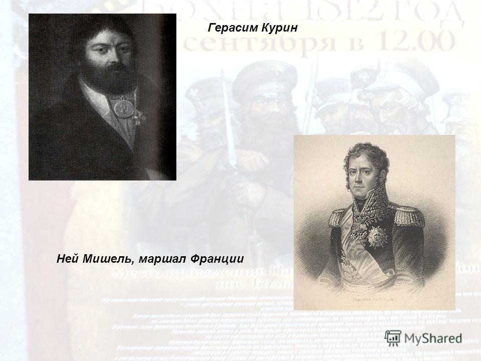Герасим Курин Ней Мишель, маршал Франции