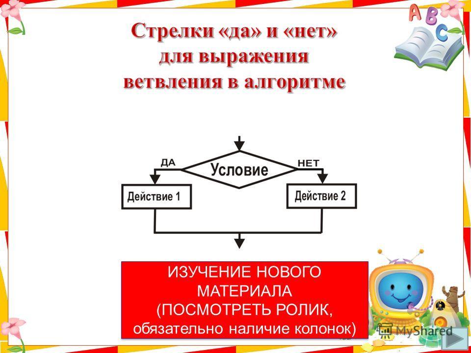 ИЗУЧЕНИЕ НОВОГО МАТЕРИАЛА (ПОСМОТРЕТЬ РОЛИК, обязательно наличие колонок) ИЗУЧЕНИЕ НОВОГО МАТЕРИАЛА (ПОСМОТРЕТЬ РОЛИК, обязательно наличие колонок)