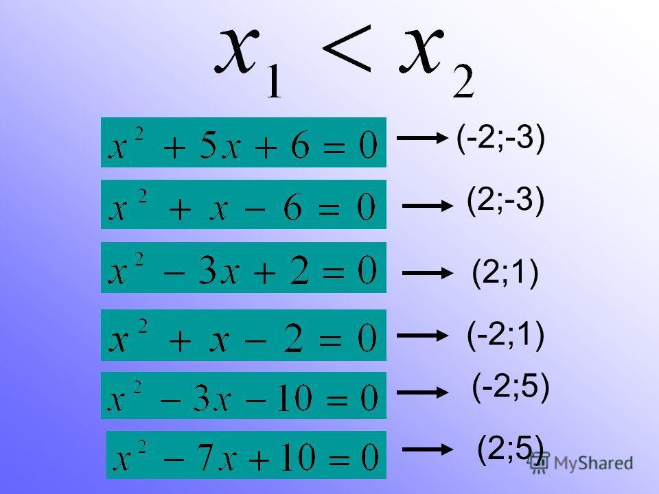 (-2;-3) (2;-3) (2;1) (-2;5) (-2;1) (2;5)