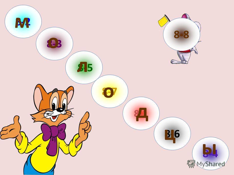 8-7 8-4 8-1 8-3 8-5 8-2 8-8 8-6 ц л м о о ы д