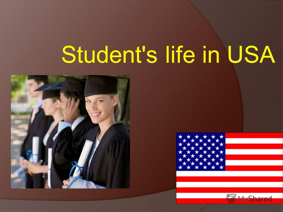 Student's life in USA