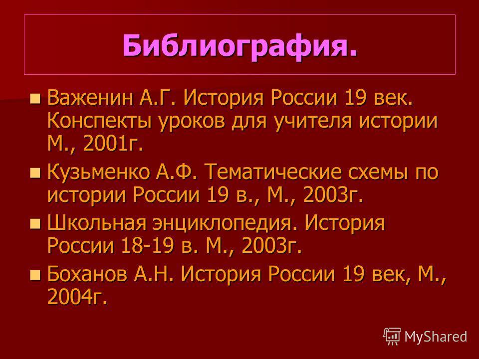Кузьменко А.Ф. Тематические