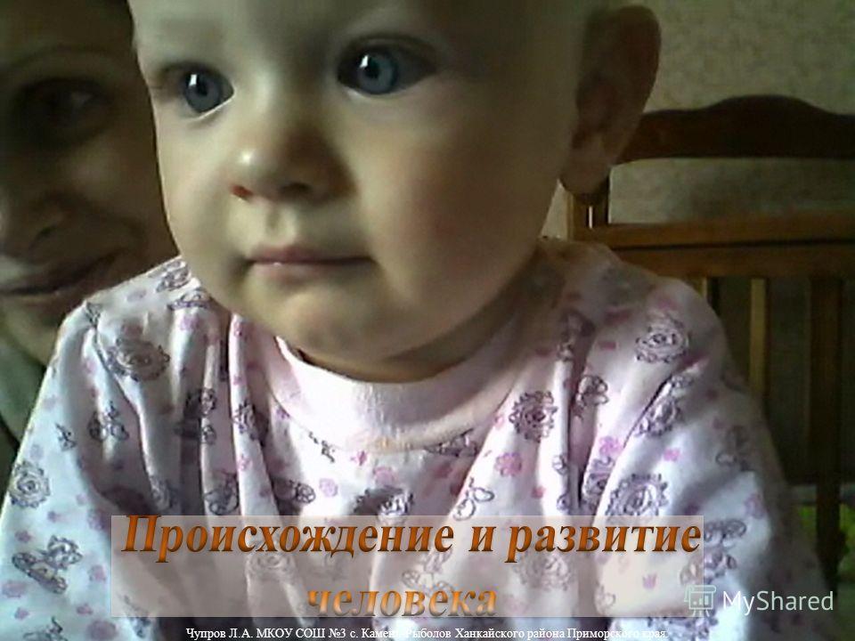 Чупров Л.А. МКОУ СОШ 3 с. Камень-Рыболов Ханкайского района Приморского края.
