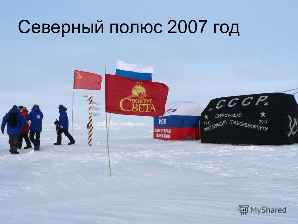 Северный полюс 2007 год