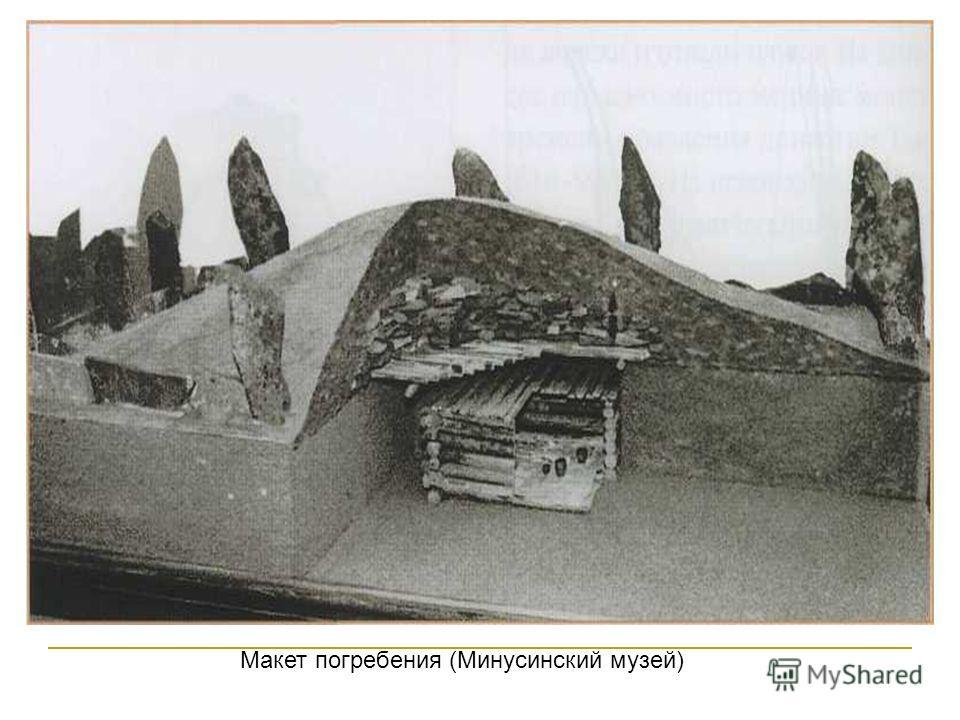 Макет погребения (Минусинский музей)